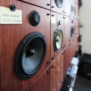 大阪, オーダー家具 ブビンガ無垢材オーディオボード