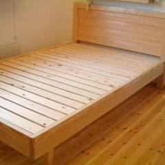 大阪 オーダー家具 ボセ無垢材 ウォールナット無垢材ベッド