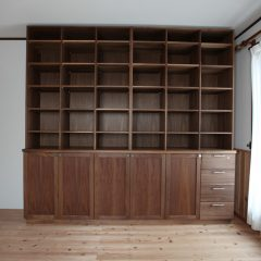 大阪 オーダー家具 収納棚