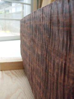 メイプル 無垢 大阪 オーダー家具 ブビンガ 無垢材 スピーカーボックス 無垢の音 ~ 奏でる無垢オーダー家具